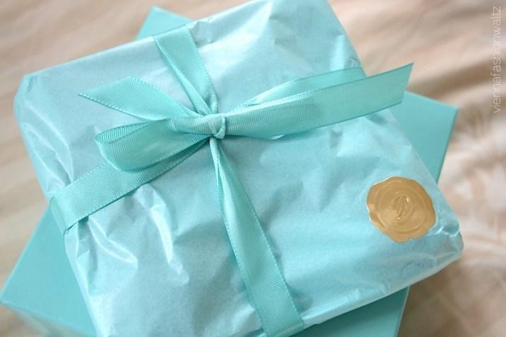 3 Douglas Box of Beauty türkise Verpackung