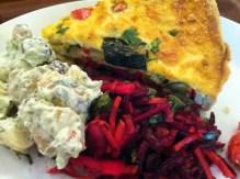 Cornucopia - Quiche & Kartoffelsalat