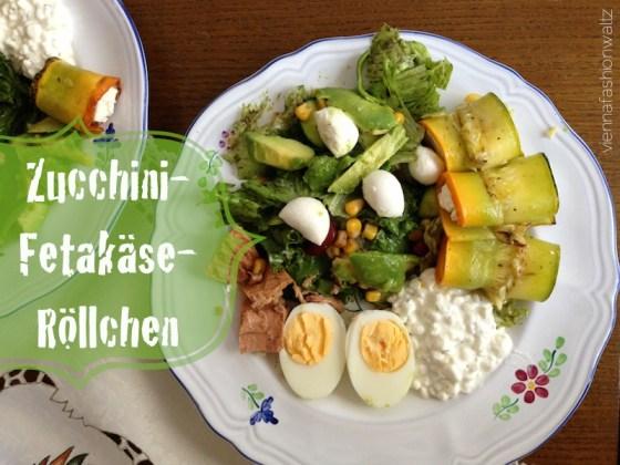 01 Zucchiniröllchen mit Fetakäse