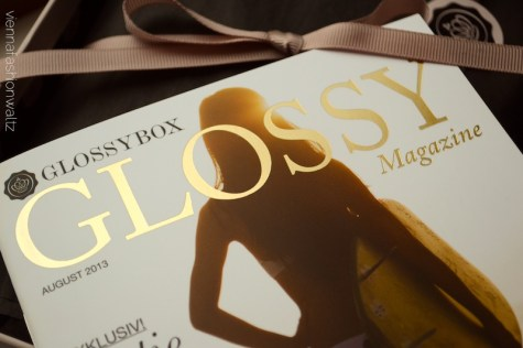 08 Glossybox August 2013 Sun Kissed Glossy Magazine
