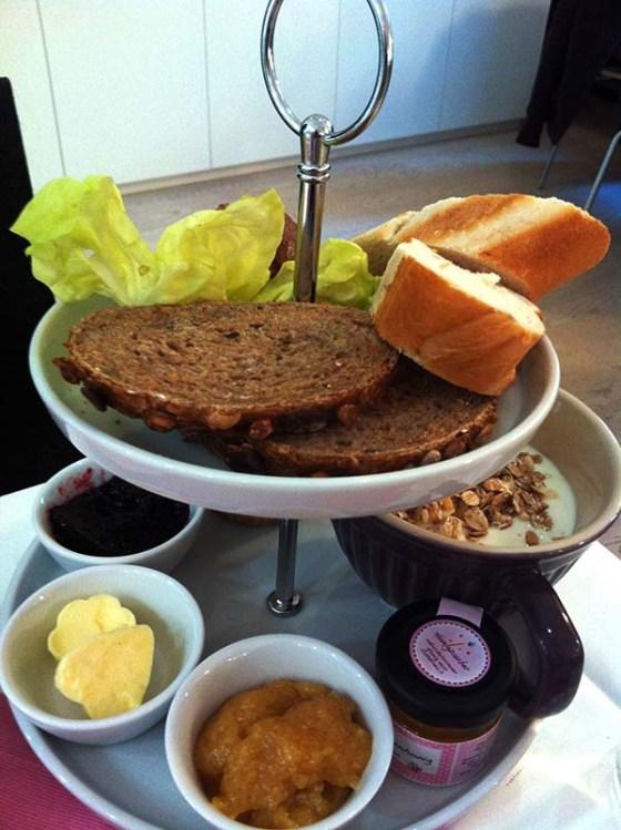 Frühstück Cupcakes Mumok