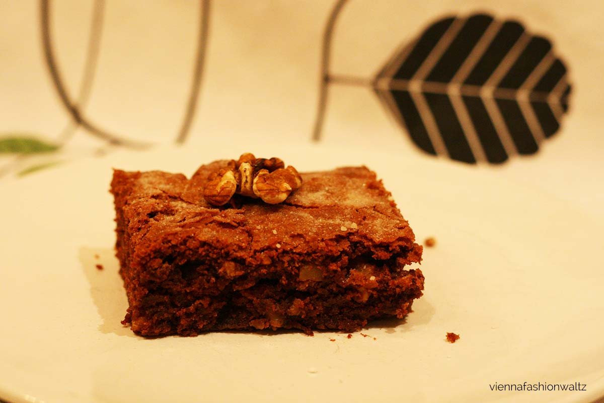 Schoko Brownies mit Walnüssen