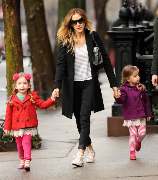 Sarah+Jessica+Parker+Outerwear+Wool+Coat+WI6yLUFB2Ral