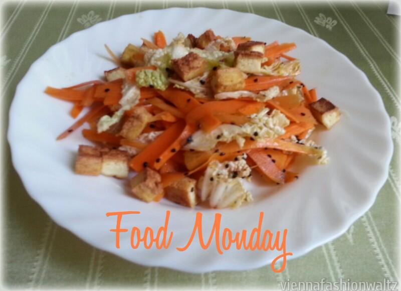Karotten Tofu Salat