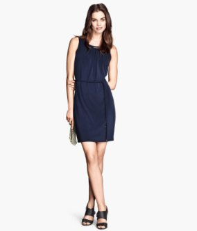 Ärmelloses Kleid € 24,95