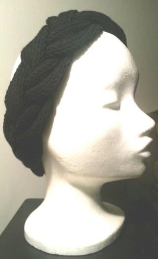 Strickanleitung geflochtenenes Stirnband