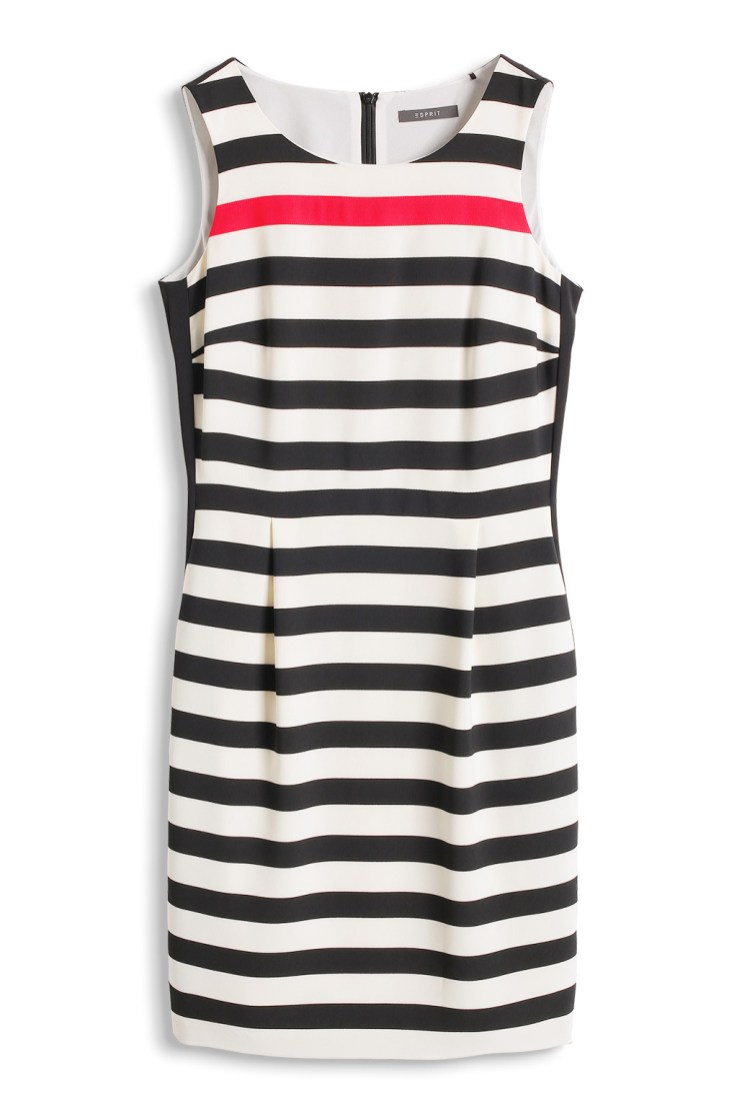 Esprit Etui-Kleid aus Crepe mit Blockstreifen € 99,99 http://www.esprit.at/etui-kleid-aus-crepe-mit-blockstreifen-034EO1E042_144?referrer=search