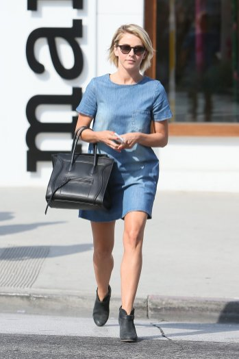 Julianne Hough www.fabsugar.com_photo-gallery_31343092_Julianne-Hough-little-denim-dress-feels-Fall-ready-ankle-boots