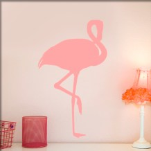 Wandtatoo http://www.wandtattoos-blog.de/wp-content/uploads/wandtattoo-flamingo-rosa.jpg