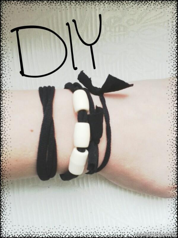 Haargummis & Armbänder - Strumpfhosen recycled! Upcycling Armband, Haarspange, Strumphose, Strumpfhosen recycled