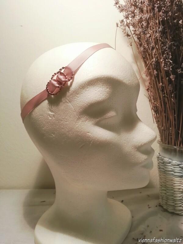 DIY Haarschleife, Armband oder Choker