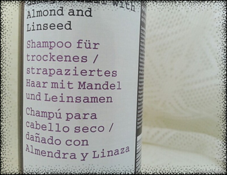 Almond and Linseed Shampoo