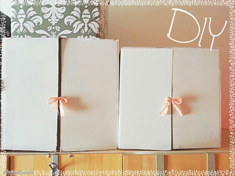 DIY Upcycling - Anbauregal für Kleiderkasten aus Pappschachteln!Pappkarton als Anbauregal für KLeiderschrank,DIY,Upcycling