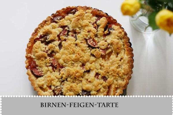 Birnen-Feigen-Tarte
