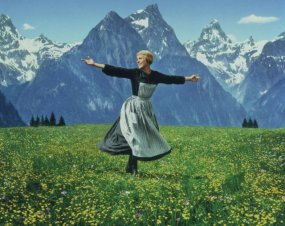 "Julie Andrews in ""sound of Music""/ http://www.imdb.com/"