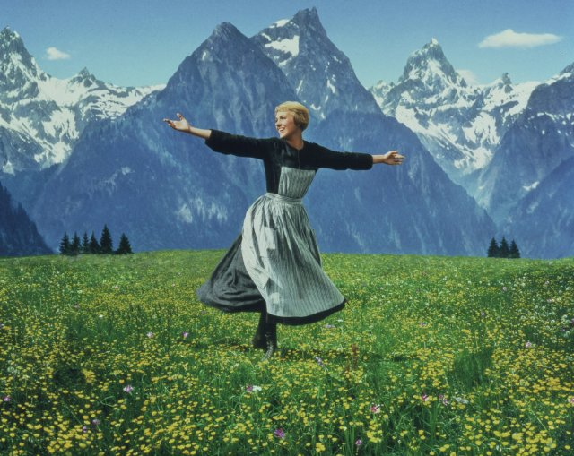 "Julie Andrews in ""sound of Music""/ http://www.imdb.com/"