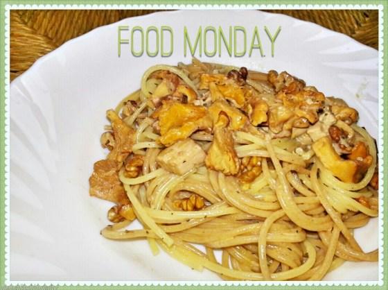 Spaghetti mit Eierschwammerl