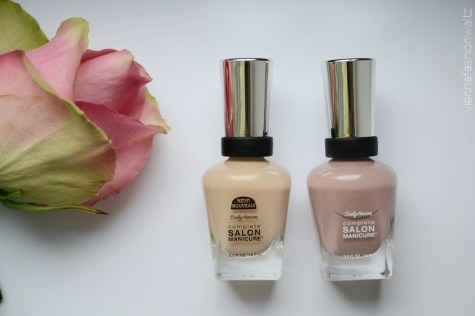 Sally Hansen nagellack Gellack - Vienna Fashion Waltz Lifestyle DIY Fashion Food Blog 1