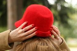 vienna fashion waltz blog - hut tut gut - hutlieblinge - roter Hut - red hat - hmshop h&m (3)