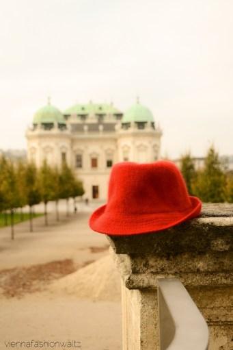 vienna fashion waltz blog - hut tut gut - hutlieblinge - roter Hut - red hat - hmshop h&m (7)