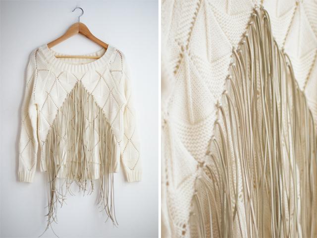 http://apairandasparediy.com/2013/04/diy-fringed-knit.html