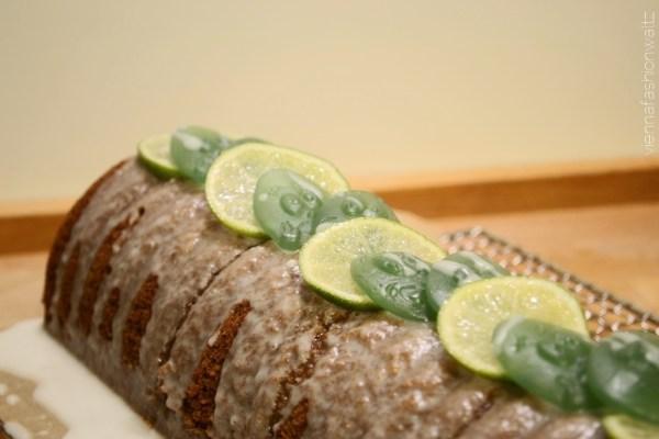 Rehrücken mit Bacardi Haribo-Limetten Topping, SCHNELL & RAFFINIERT, REZEPT, BACKEN, PARTY, HARIBO vegetarisch