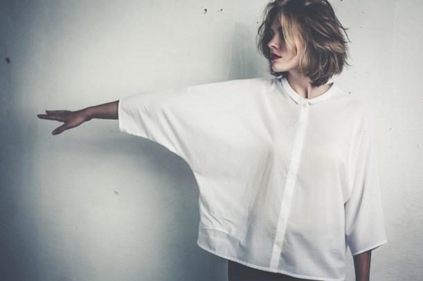 Bluse mit lässigem Schnitt http://www.johannahauck.com/women/