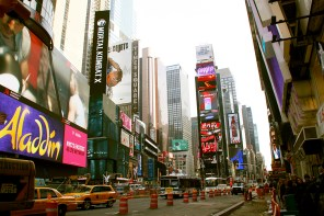 NYC Times Square by Day