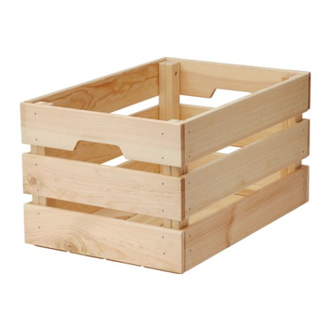 KNAGGLIG Kasten aus Kiefer um € 9,99 http://www.ikea.com/at/de/catalog/products/10292357/#/70292359
