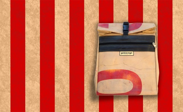 Heckbag von garbarage upcycling Design um €145 http://www.gabarage.at/de/menu33/produkte70/