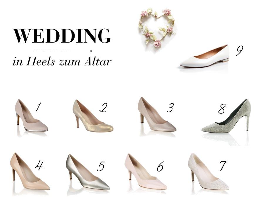 Hochzeitstagebuch: 8 High Heels für den großen Tag   lifestyle blog vienna fashion waltz wedding hochzeit diary pumps heels altar