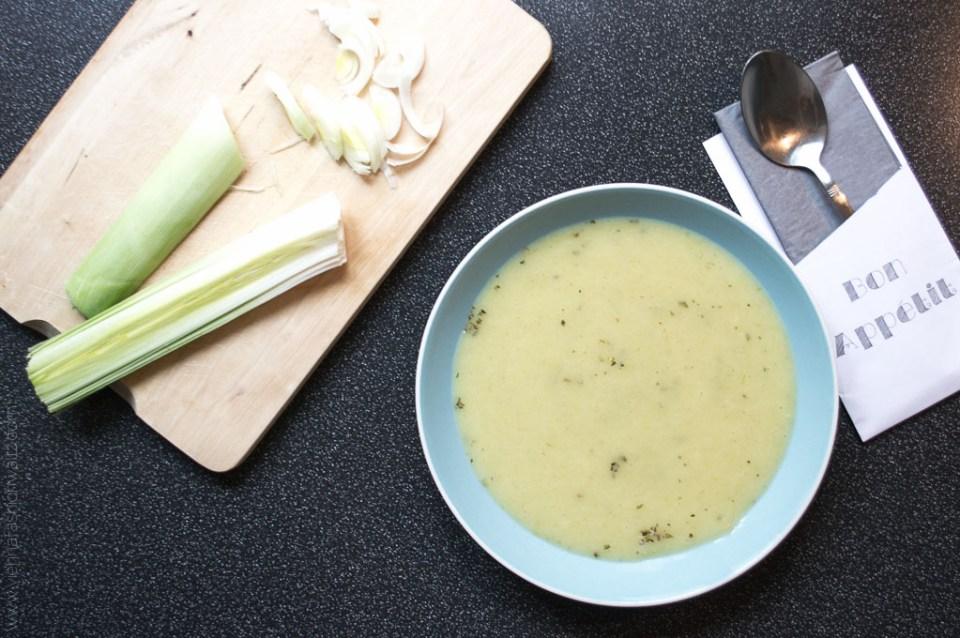 Lifestyleblog www.viennafashionwaltz.com schnelles Rezept Lauchcremesuppe (9 von 11)