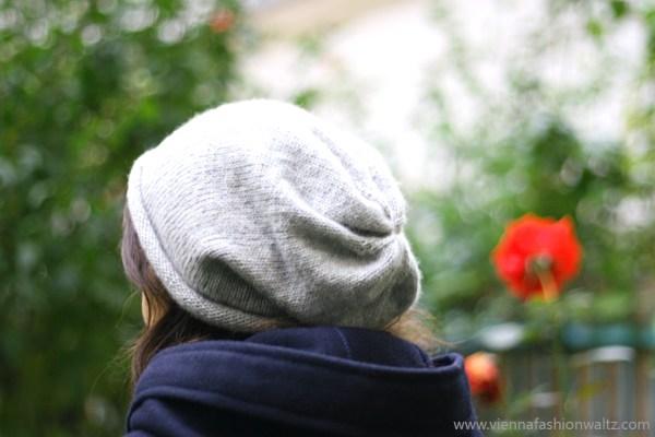 Kostenlose Strickanleitung, Haube aus Kaschmir, Beanie Mütze gratis Stricken