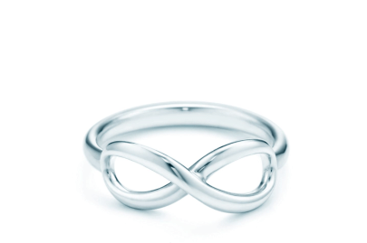 Tiffany Infinity Ring