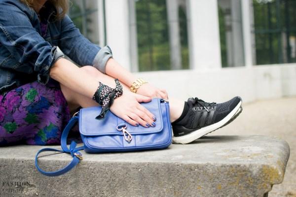 Adidas Jeansjacke C&A Bandana DIY Fashion Blog Wien www.ViennaFashionWaltz.com-8