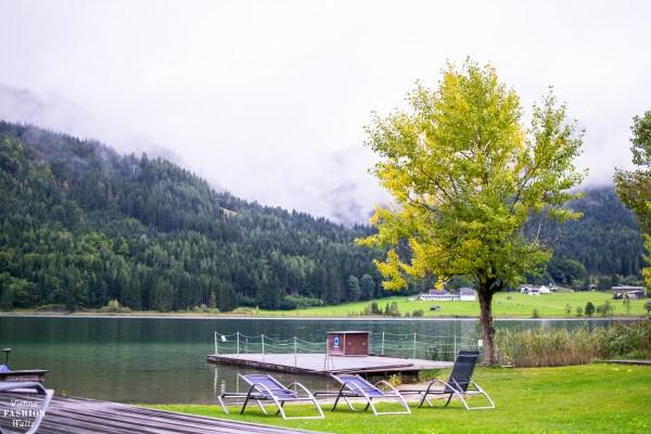 Aussicht auf den See, Weissenseerhof & TIAN | Erstes vegetarisches BioHotel in Österreich | www.viennafashionwaltz.com