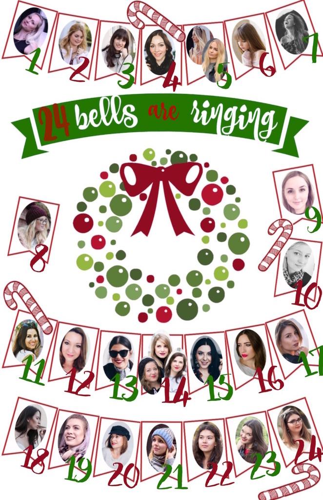 Blogger Adventskalender 2017 Verlosung 24 bells are ringing