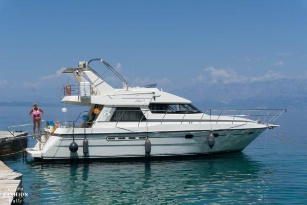 Badeurlaub Kroatien Makarska Riviera Boot Sonne Blog