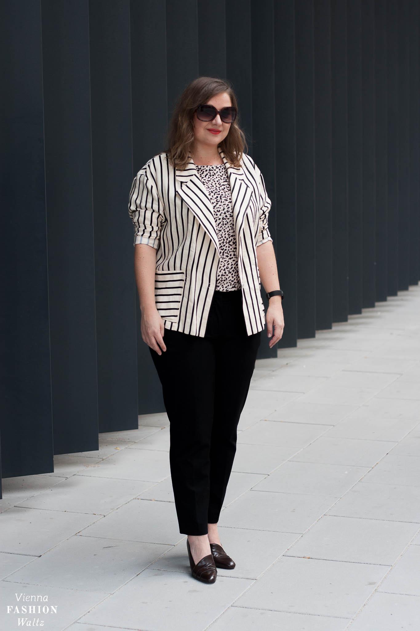 Herbsttrend Leoprint mit Escada Blazer & Stylingtipps, Fashion, Outfit, Trends, Style