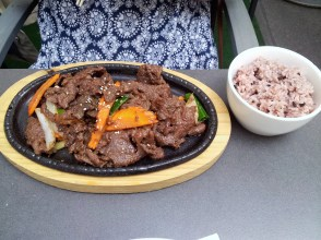 The Korean bulgogi