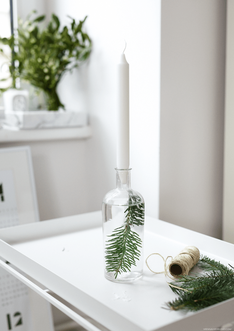 Festive Candle Holder DIY | More on viennawedekind.com