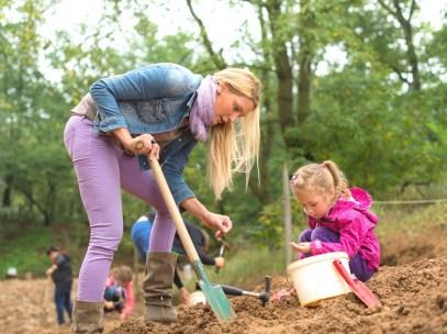 treasure digging