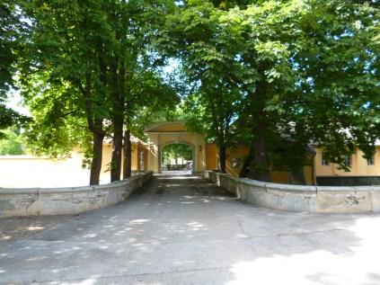 Marchegg castle entrance
