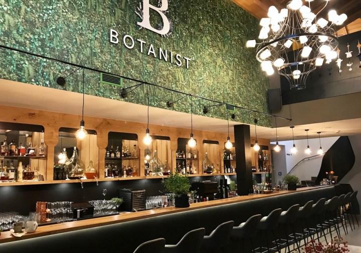 Die neue Botanist Bar im Forsthofgut