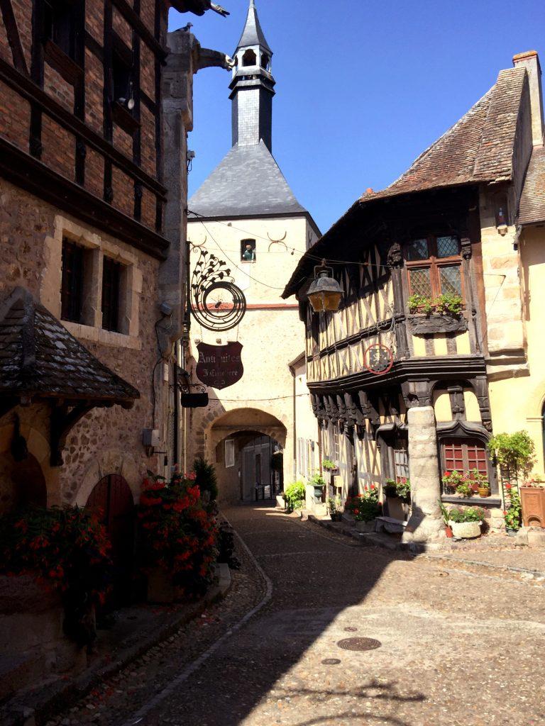 Village de Saône et Loire