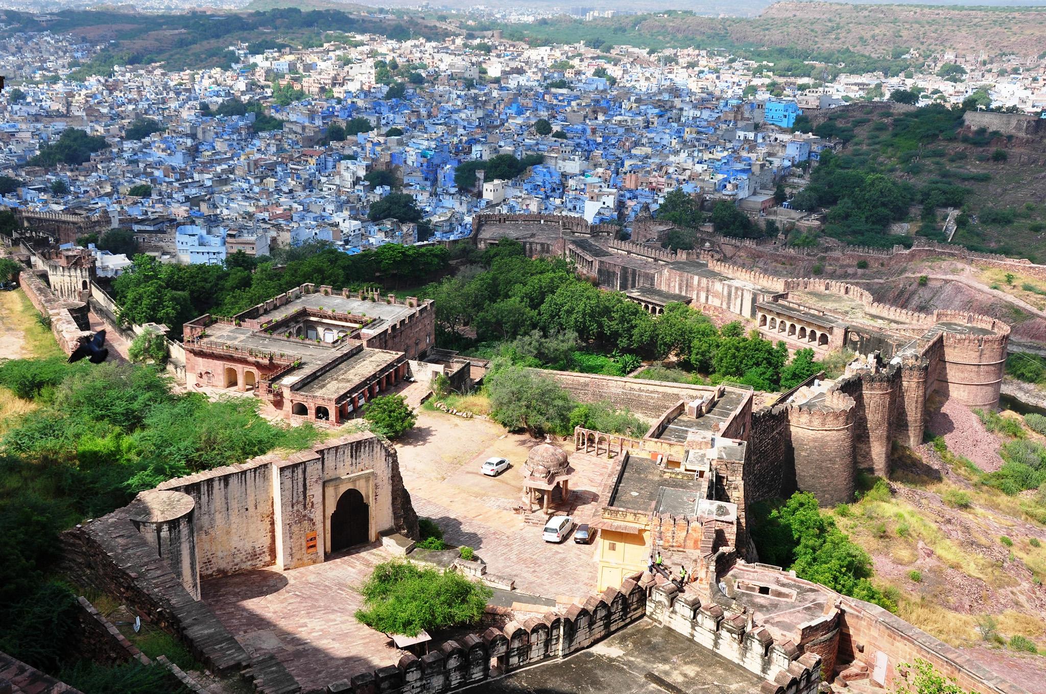 La ville bleue du Rajasthan