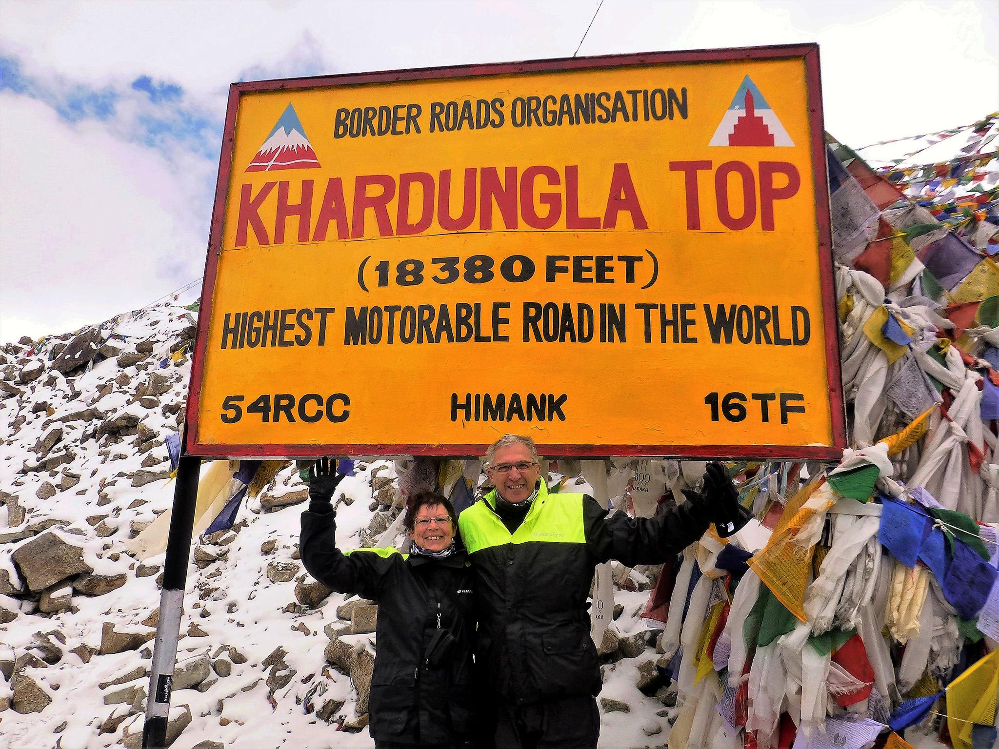 Col dans l'Himalaya