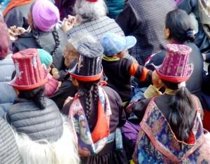 Chapeaux traditionnels au Ladakh