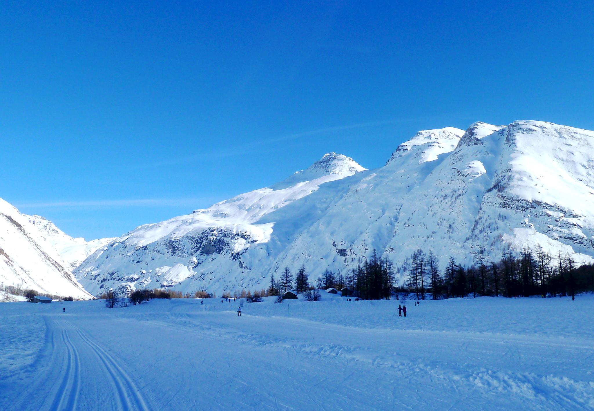 Bessans ski nordique