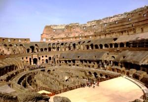 Rome intérieur Colisée